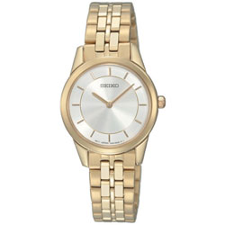 Seiko SFQ822 SFQ822P SFQ822P1 Ladies Watch Gold Tone