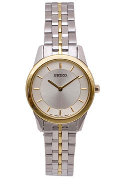 Seiko SFQ824 SFQ824P SFQ824P1 Ladies Watch Gold Tone