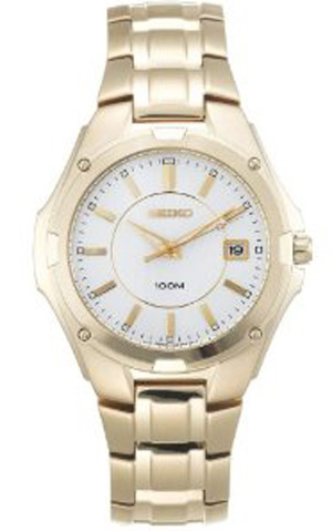 Seiko SGEE62 SGEE62P SGEE62P1 Mens Gold Watch