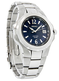 Seiko SGEE67 Coutura Mens Watch SGEE67 SGEE67P-9 Blue Dial Watch