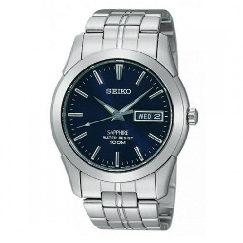 Seiko SGG717 SGG717P1 Mens Watch Blue Dial WR100m