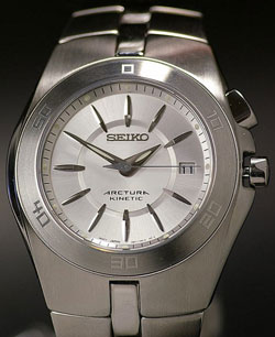 Seiko Arctura Kinetic Gents watch SKA201 in gift box - wrist watch