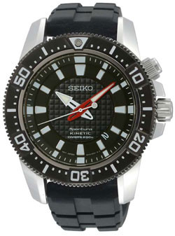 Seiko Sportura Kinetic Mens Watch SKA511 SKA511P2 WR200m