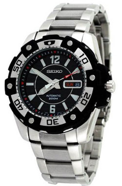 Seiko SKZ271 SKZ271K SKZ271K1 Mens Automatic Diver Sport Watch WR200m