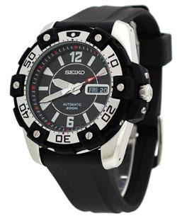 Seiko SKZ271 SKZ271K SKZ271K2 Mens Automatic Diver Sport Watch WR200m