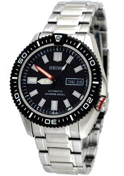 Seiko Automatic SKZ325 SKZ325K SKZ325K1 Mens Diver Sport Watch WR200m