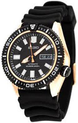 Seiko Automatic SKZ330 SKZ330K SKZ330K1 Mens Diver Sport Watch WR200m