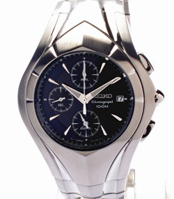 SEIKO Streamline Alarm Chronograph SNA613 watch in gift box watch