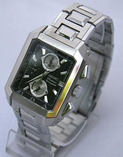 SEIKO Premier Alarm Chronograph 100m Watch SNA743P1 SNA743