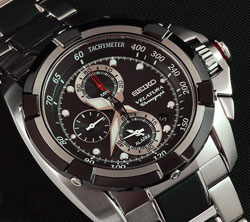 Seiko Velatura SNAA93 SNAA93P SNAA93P1 Alarm Tachymeter Chronograph Mens Watch