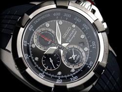 Seiko Velatura SNAA93 SNAA93P2 SNAA93P-2 Alarm Tachymeter Chronograph Mens Watch