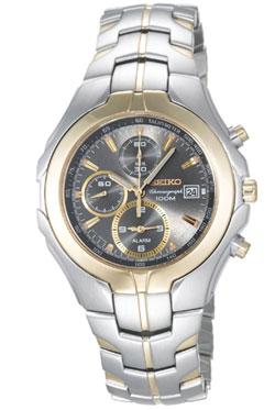 Seiko SNAC94 SNAC94P SNAC94P1 Mens Alarm Chronograph Watch