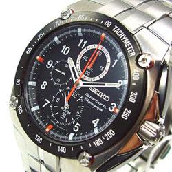 Seiko Sportura SNAD23P1 SNAD23P SNAD23Alarm Mens Chronograph Watch
