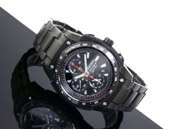 Seiko Alarm Chronograph SNAD49 SNAD49P SNAD49P1 Mens Watch