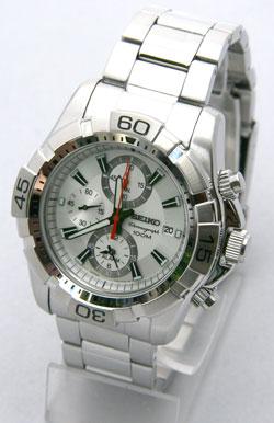 Seiko SNAE23 SNAE23P SNAE23P1 Mens Alarm Chronograph Watch