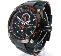 Seiko Sportura SNAE37 SNAE37P SNAE37P1 Mens Chronograph Alarm Watch