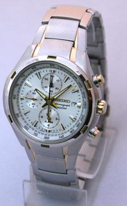 Seiko SNAE42 SNAE42P SNAE42P1 Alarm Chronograph Mens Watch