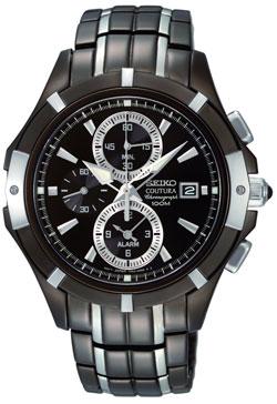 Seiko SNAE57 SNAE57P9 Coutura Alarm Chronograph Mens Watch
