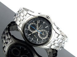 Seiko SNAE83 SNAE83P SNAE83P1 Mens Watch Stainless Steel Alarm  Chronograph