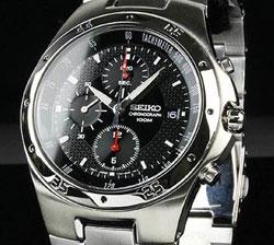 Seiko SND417 SND417P SND417P1 Mens Chronograph Watch