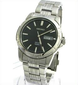 Seiko SNE093 SNE093P SNE093P1 Mens Solar Watch