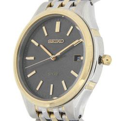 Seiko Mens Solar SNE128 SNE128P SNE128P9 WR100m Watch
