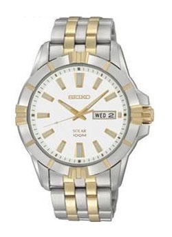 Seiko SNE162 SNE162P SNE162P1 Mens Watch Stainless Steel Solar