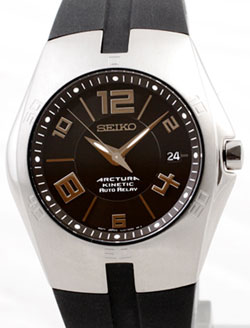 Seiko SNG045p2 Arctura Kinetic Auto Relay Gents watch in gift box