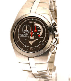 Seiko Arctura Kinetic Gents Chronograph SNL003 in gift box - wrist watch