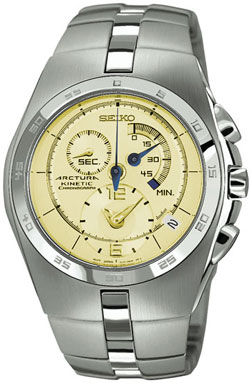 Seiko Arctura Kinetic Gents Chronograph SNL009 Mens Watch