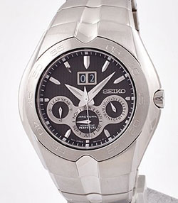 Seiko SNP011P2 Arctura Kinetic Gents Watch with Perpetual Calendar