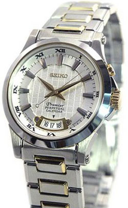 Seiko Premier Perpetual Calendar Gents watch SNQ004P1 in gift box watch