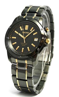 Seiko SNQ045 SNQ045P SNQ045P1 Mens Perpetual Calendar Watch