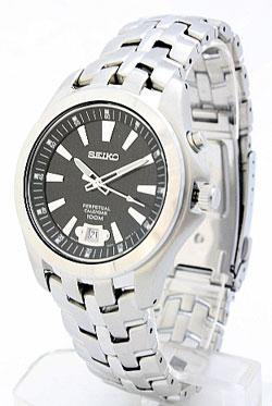 Seiko SNQ101 SNQ101P SNQ101P9 Mens Perpetual Calendar Watch