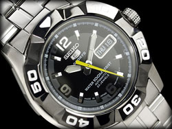 SEIKO Automatic Mens Diver Watch SNZE59 SNZE59K SNZE59K1 WR100m