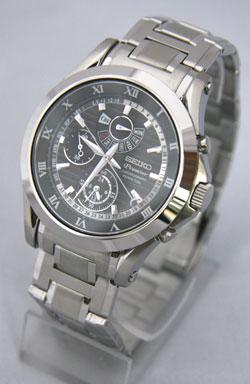 Seiko Premier Chronograph Perpetual Calendar Alarm SPC051 SPC051P1 Mens Watch