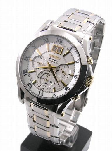 Seiko Premier Chronograph Mens Watch SPC058P1 SPC058
