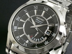 Seiko Premier Kinetic SRN003P Mens Stainless Steel Watch