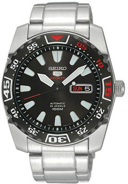 Seiko 5 Sports Automatic Hand Winding SRP167K1 SRP167 SRP167K Mens Watch