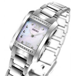Seiko SRZ365 SRZ365P SRZ365P1 Ladies  Watch Mother of Pearl Dial Watch with 16 real Diamonds