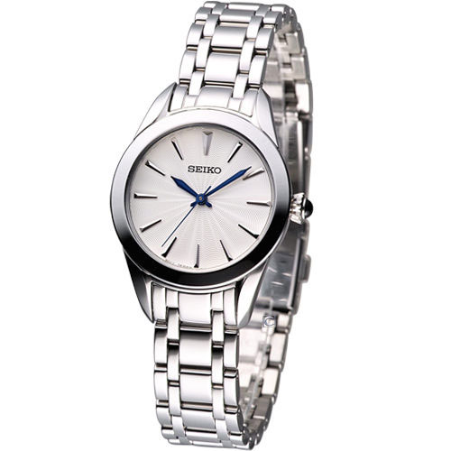 Seiko SRZ381 SRZ381P1 Ladies Watch WR50m Cabochon Crown