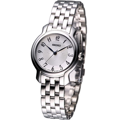 Seiko SRZ391 SRZ391P1 Ladies Watch Cabochon Crown WR50m