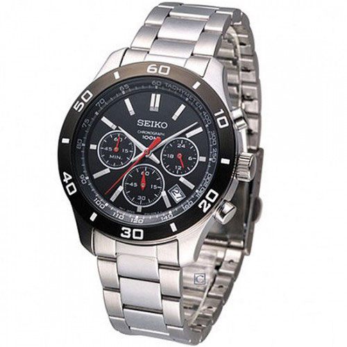 Seiko SSB053 SSB053P1 Mens Chronograph Watch WR100m