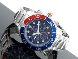 Seiko SSC019 Solar Chronograph Mens Diver Watch SSC019P1 SSC019 WR200m