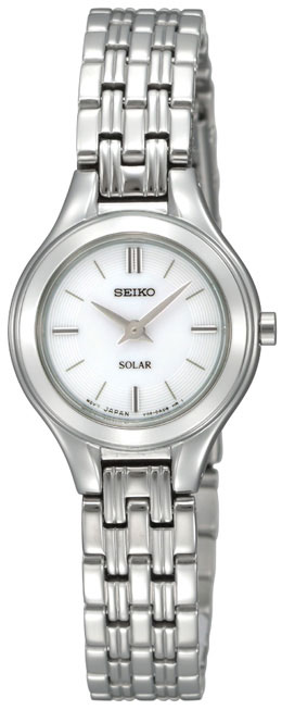 Seiko SUP003 SUP003P1 Ladies Solar Stainless Steel Watch