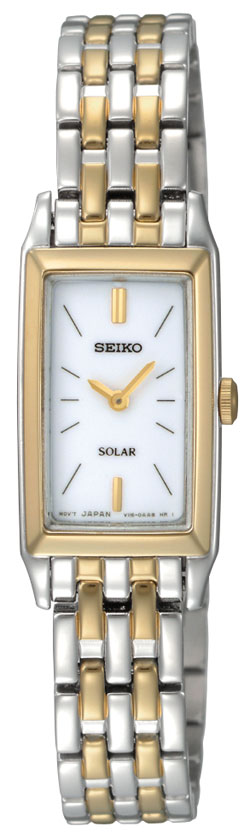 Seiko Solar SUP028 SUP028P1 SUP028P Ladies Watch