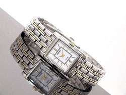 Seiko SUP079 Solar SUP079P1 SUP079 SUP079P Ladies Watch two tone