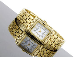 Seiko Solar SUP080P1 SUP080 SUP080P Ladies Watch Gold