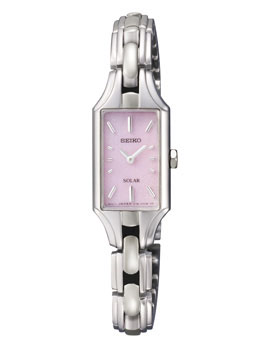 Seiko SUP179 SUP179P1 Ladies Solar Watch Pink Face