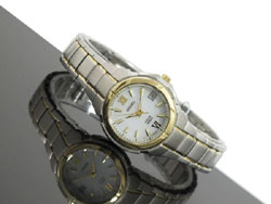 Seiko SUT022 SUT022P1 SUT022P Solar Ladies Watch
